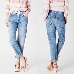 Citizens of Humanity light washed boyfriend jeans